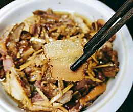 土豆蒸腊味的做法