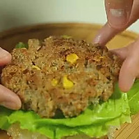 【微体】活力双倍!牛肉米汉堡的做法图解16