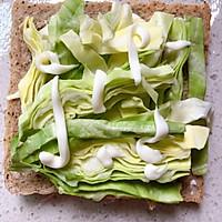 【快手早餐】全麦厚切三明治#美食新势力#的做法图解2