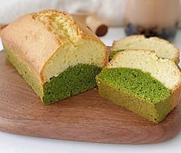 秋日限定:香草抹茶磅蛋糕的做法