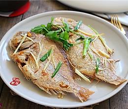 煎焖立鱼的做法