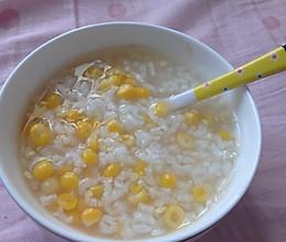 玉米粥的做法
