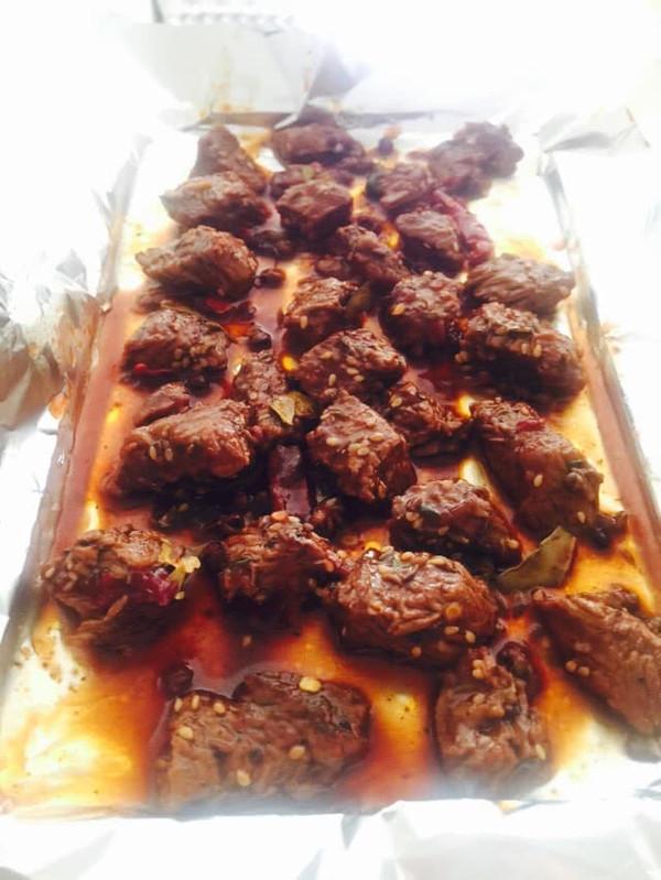 烤箱牛肉粒的做法
