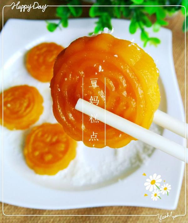 蒸出来的无油南瓜饼,健康美味,QQ的,甜甜的,糯糯的