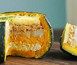 日食记 | 瀑布南瓜芋泥蛋糕的做法