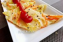 胡萝卜土豆丝鸡蛋饼的做法
