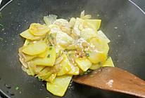 大葱土豆片的做法