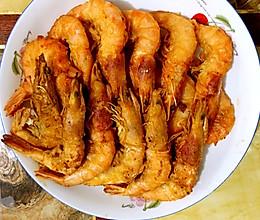 油炸大虾的做法