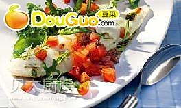 地中海番茄煮鱼的做法