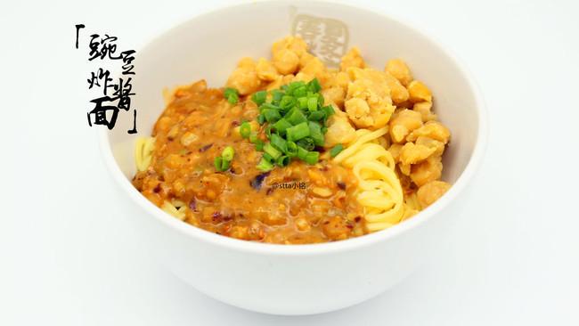 清油豌豆炸酱面/豌豆炸酱小面[简单三部曲]的做法
