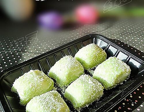 山药绿茶糕