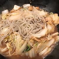 #快手又营养,我家的冬日必备菜品#五花肉炖白菜的做法图解8