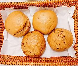 有料的红糖馒头:红枣+核桃—补气补又香甜!的做法
