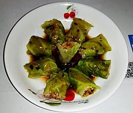 宝宝餐之春天气息包菜卷【2岁以上】的做法