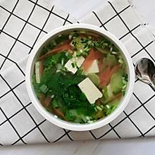 #健康餐#杂蔬豆腐汤