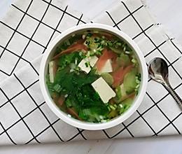 #健康餐#杂蔬豆腐汤的做法