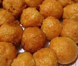 红蜜薯丸子的做法