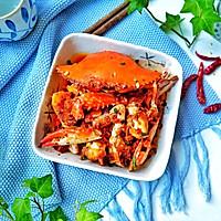 #秋天怎么吃#馋嘴下酒菜【香辣蟹】的做法图解9