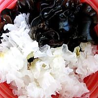 橄露Gallo经典特级初榨橄榄油试用之【炝炒双耳】的做法图解1