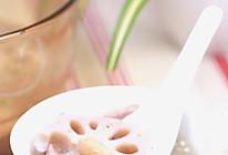 鲜藕根瘦肉薏仁汤的做法