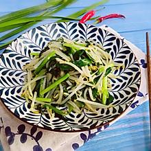 #餐桌上的春日限定#韭菜炒豆芽