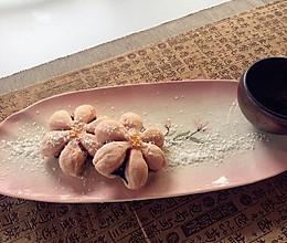 莲花酥—粉色的酥香的做法