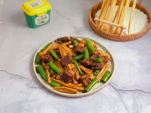 支竹牛腩煲的做法