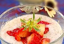 山药草莓淡奶的做法
