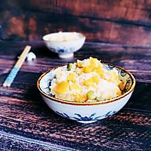 香肠南瓜什锦焖饭