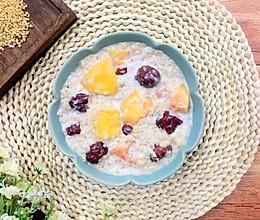 红枣木瓜牛奶燕麦粥#百变水果花样吃#的做法