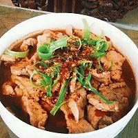 """""""水煮肉片""""(或""""水煮海鲜"""")的N种美味组合:四季水煮肉片的做法图解9"""