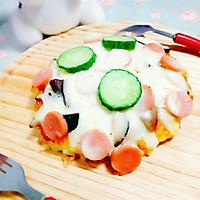 米饭披萨#百吉福芝士力量#的做法图解8