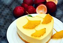 百香果慕斯蛋糕#好彩头#的做法