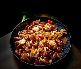 一人食--经典川菜 火爆肥肠的做法