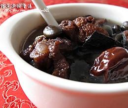 杜仲黑豆排骨汤的做法
