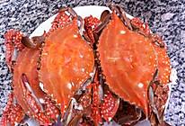 蒸梭子蟹的做法