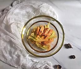 虾头烧花菜的做法