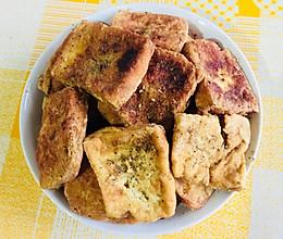 家常菜「香煎臭豆腐干」的做法