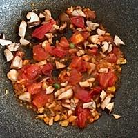 番茄香菇什锦菜的做法图解3