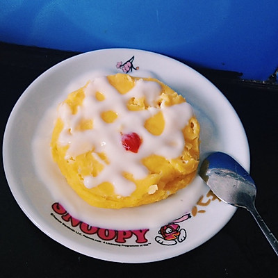 1分钟微波炉蛋糕