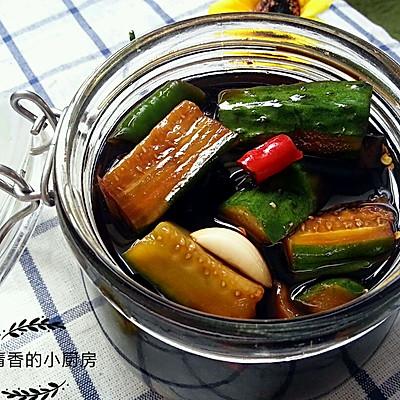 腌黄瓜咸菜(家常必备小菜)