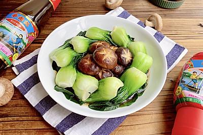 蚝油香菇青菜 鲜美味浓胜过鲍鱼