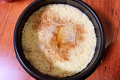 5分钟快速蛋汤~砂锅炖蛋