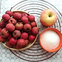 山楂苹果酱的做法图解1