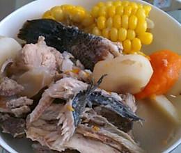 生鱼猪骨玉米汤的做法