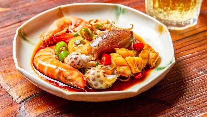 【捞汁小海鲜】一个烧菜不汗流浃背的好方法!
