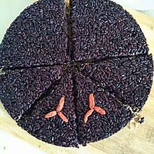 黑米糯米糕