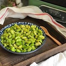 #520,美食撩动TA的心!#豉油蒸蚕豆