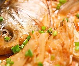 网红美食在家也能做的鱼头泡饼~的做法