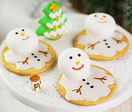 棉花糖雪人饼干的做法